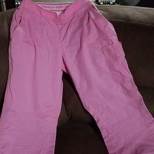 Koi pink scrub pants